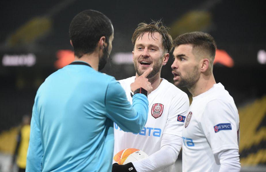 CFR Cluj a ratat dramatic calificarea în primăvara Europa League, după ce a pierdut la limită meciul cu Young Boys, 1-2, primind golurile în ultimele minute ale meciului.