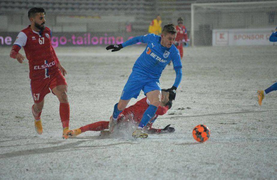 Craiova a învins-o pe FC Botoșani, scor 1-0, în ultima optime de finală a Cupei României.