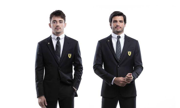 Leclerc și Sainz jr. FOTO Instagram @scuderiaferrari