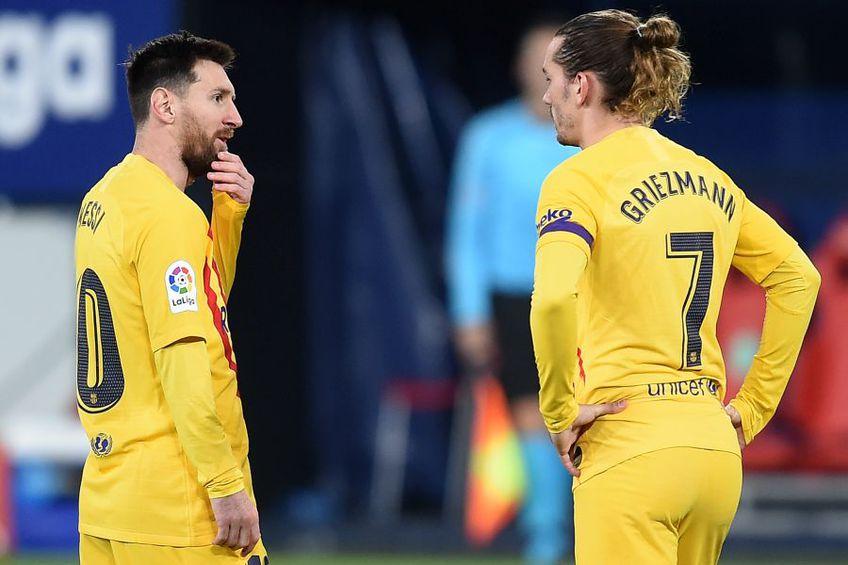Lionel Messi și Antoine Griezmann // Foto: Getty Images