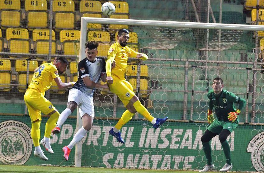 Concordia Chiajna și Petrolul Ploiești au remizat, scor 0-0 FOTO: facebook.com/official.fcpetrolul