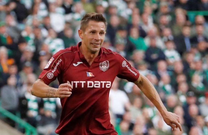 Ciprian Deac este unul dintre cei mai importanți jucători de la CFR Cluj