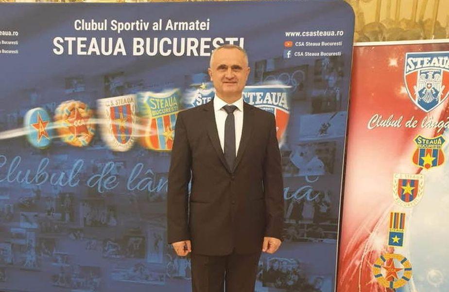 Mădălin Sorin Hîncu conduce CSA Steaua din 29 ianuarie