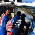 Gianluca Grassadonia a leșinat pe bancă. Sursă foto: La Presse