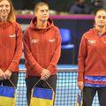 Patricia Țig (în stânga) nu va evolua împotriva Italiei