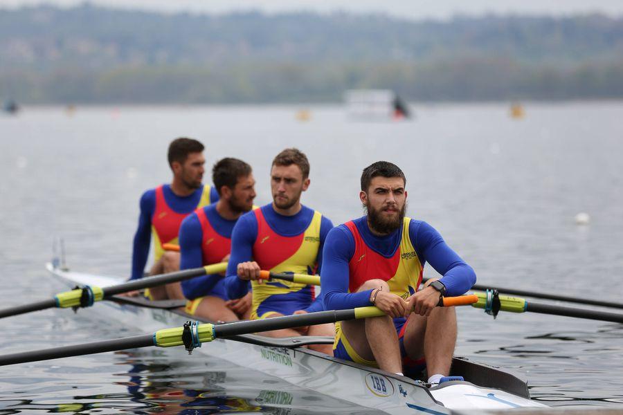 Băieții din barca de patru rame FOTO Imago