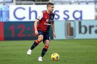 """Notele primite în Italia de Răzvan Marin, integralist în Inter - Cagliari: """"Prea puțin incisiv, fără sclipire"""""""