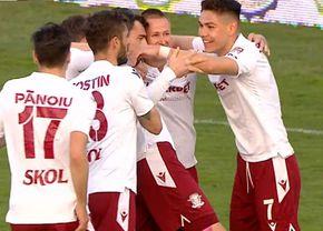Rapid și Craiova rup play-off-ul! » Noul clasament, după ce giuleștenii au făcut iar scor cu Dunărea Călărași