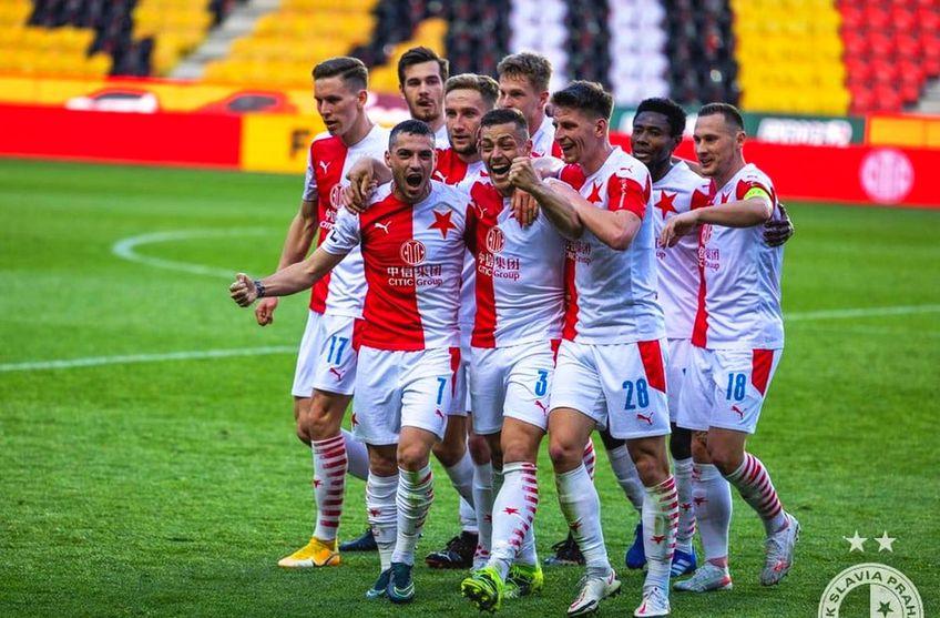 Nicolae Stanciu (27 de ani) și Florin Niță (33 de ani) sunt titulari în Slavia Praga - Sparta Praga, derby-ul primei ligi din Cehia.