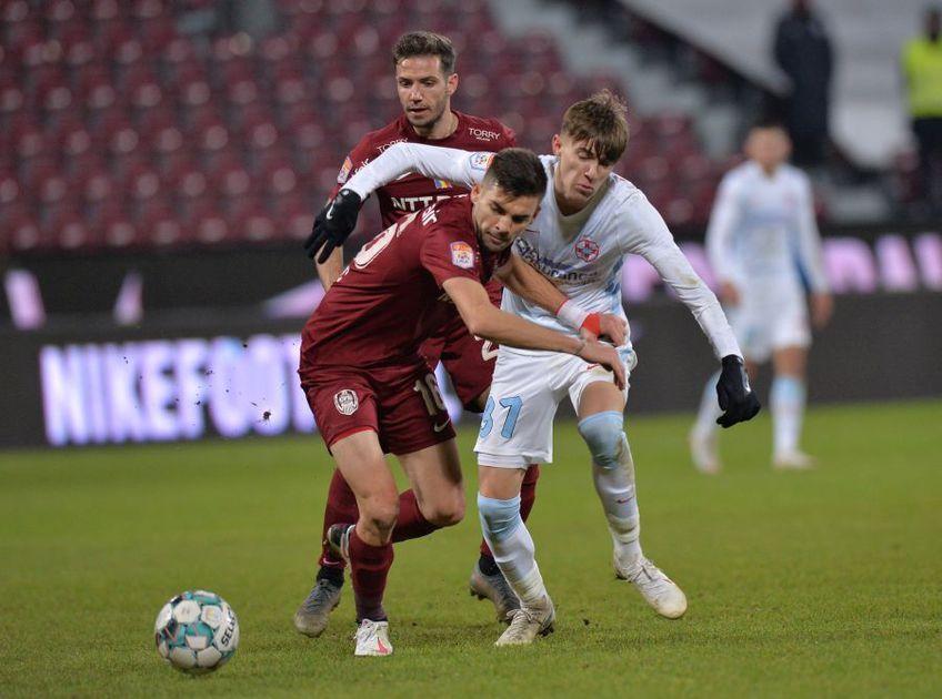 CS Universitatea Craiova și CFR Cluj au remizat, scor 0-0, în ultima etapă a sezonului regulat. FCSB beneficiază de acest lucru și pornește din postura de lider în play-off.