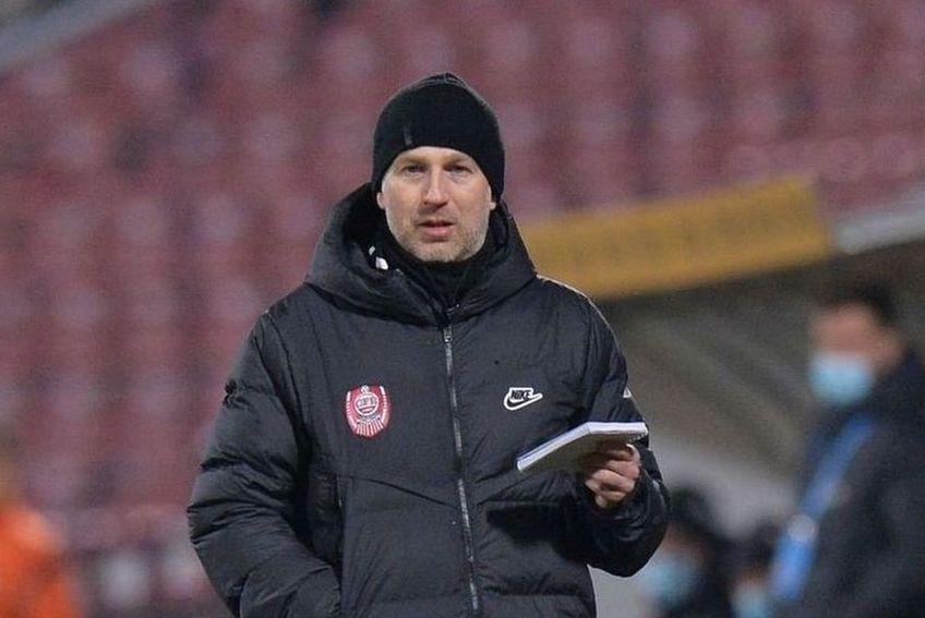 Edi Iordanescu, antrenor CFR Cluj