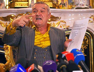 """Gigi Becali își cere banii înapoi de la Clinceni: """"M-a bătut echipa mea. Să-mi dea 400.000 de euro!"""""""
