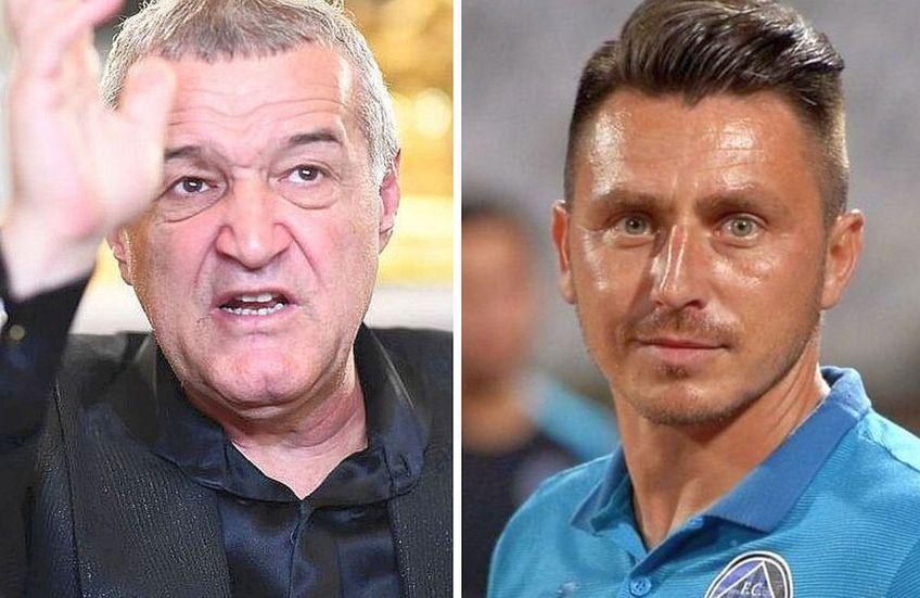 Gigi Becali a avut o intervenție nemiloasă la adresa lui Ilie Poenaru