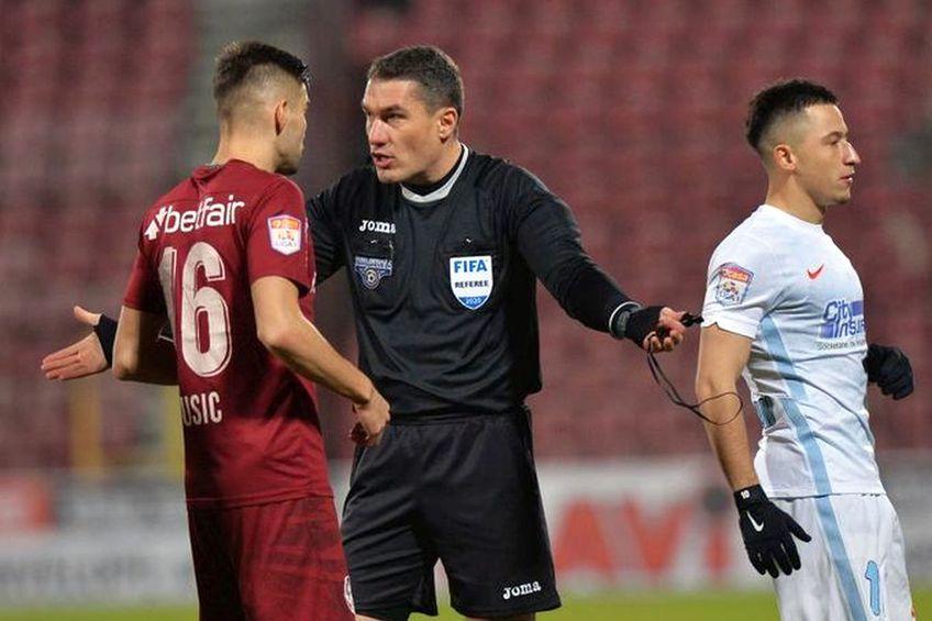 Ar fi necesar ca FRF să aducă arbitri străini la ultimele etape din Liga 1?