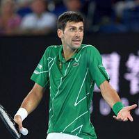 Djokovic, furios!