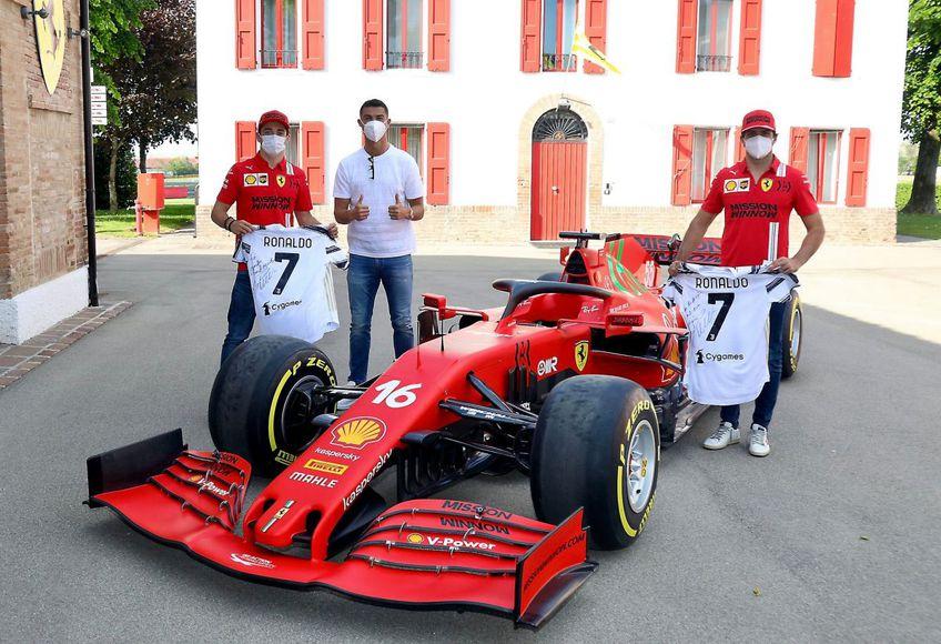 FOTO: Twitter @Ferrari