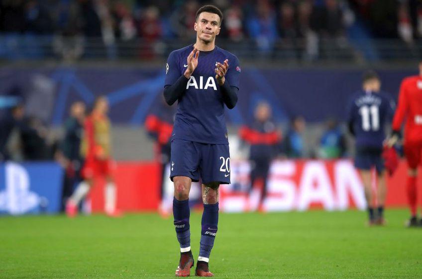 Dele Alli va rata meciul lui Tottenham cu Manchester United // foto: Guliver/gettyimages