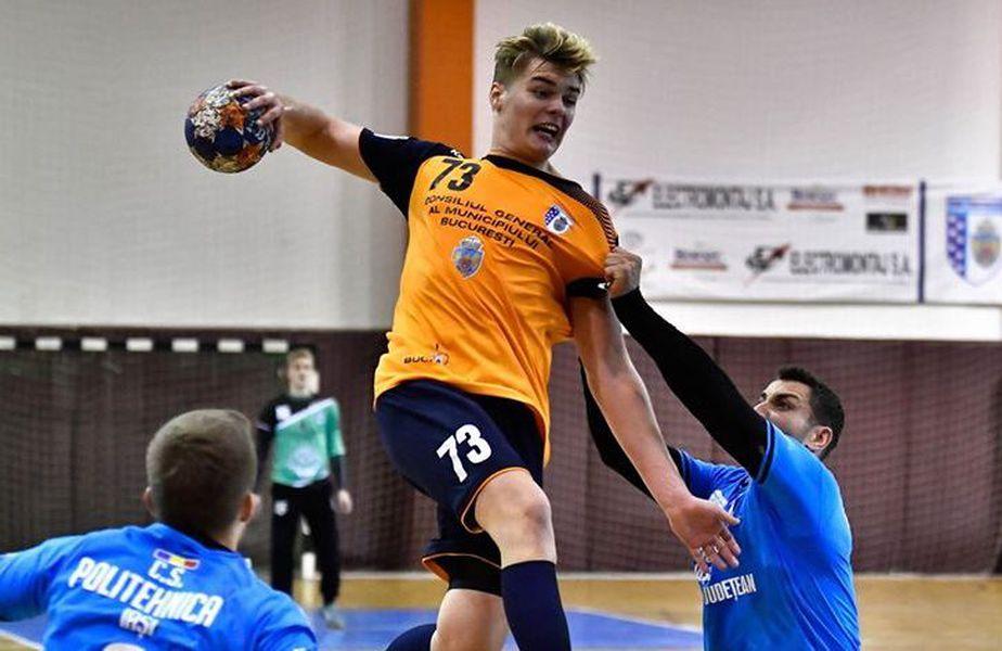 Octavian Bizău are 1,94 metri și a fost cel mai bun jucător român sub 21 de ani în 2018 FOTO CSM București