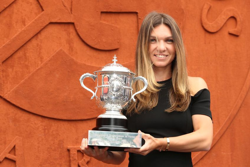 Simona Halep a câștigat Roland Garros în 2018 // foto: Guliver/gettyimages