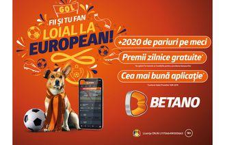 Betano, cea mai diversificată ofertă de pariere din România pentru Europeanul de Fotbal