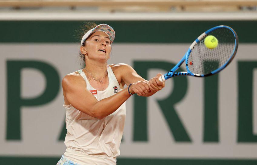 Irina Begu (30 de ani) și argentinianca Nadia Podoroska (24 de ani) au fost eliminate în semifinalele probei de dublu feminin de la Roland Garros, de perechea Bethanie Mattek-Sands (36 de ani)/Iga Swiatek (20 de ani), scor 3-6, 4-6.