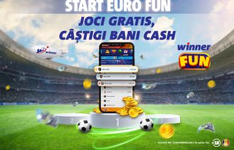 Hitul verii de la Winner FUN: joci gratis, câștigi bani cash