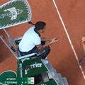 În semifinala dintre Stefanos Tsitsipas (22 de ani, 5 ATP) și Alexander Zverev (24 de ani, 6 ATP), la scorul de 6-3, 6-3, 3-5 în favoarea grecului, germanul a răbufnit la adresa arbitrului de scaun.