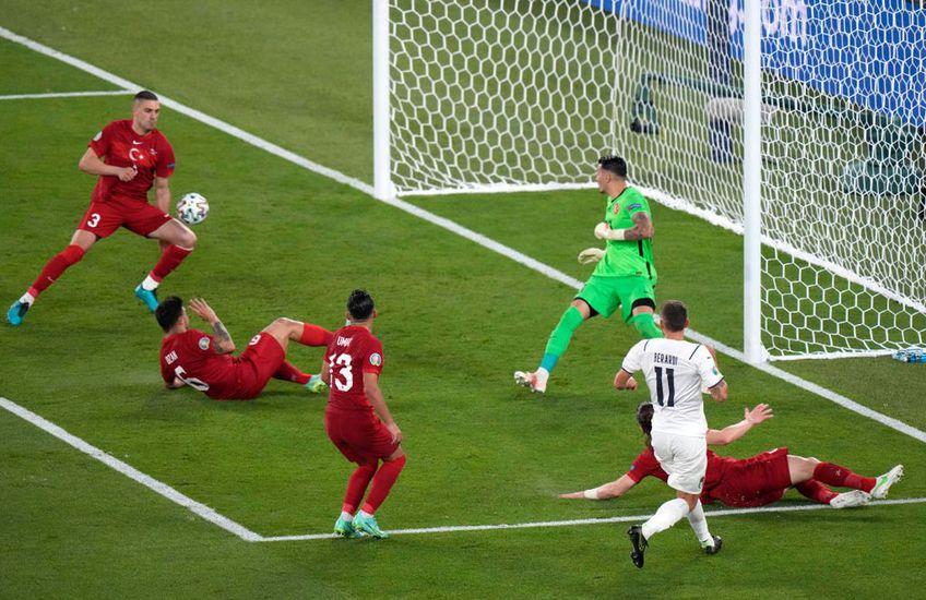 Turcia - Italia, meciul de debut la Euro 2020, a fost deblocat de un autogol. Premieră absolută la Campionatele Europene!