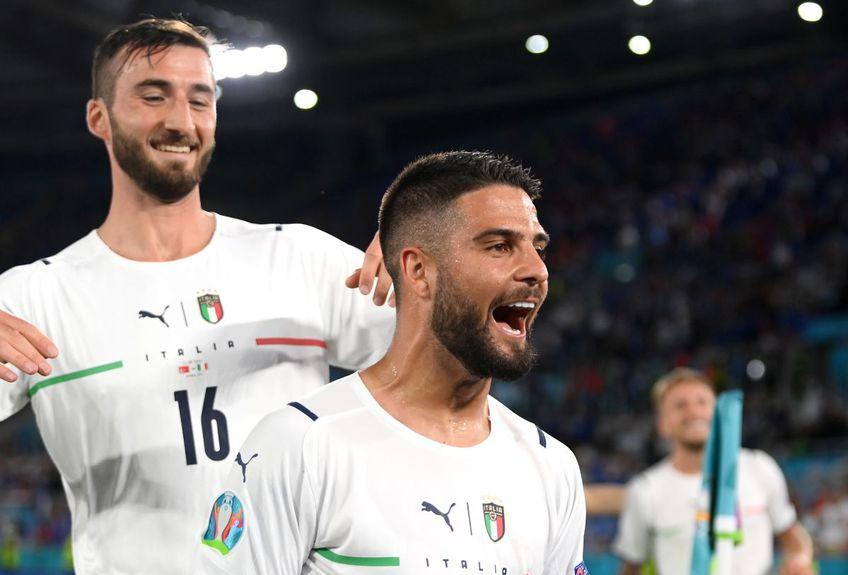 Italia a învins-o pe Turcia, scor 3-0, în primul meci de la Euro 2020.
