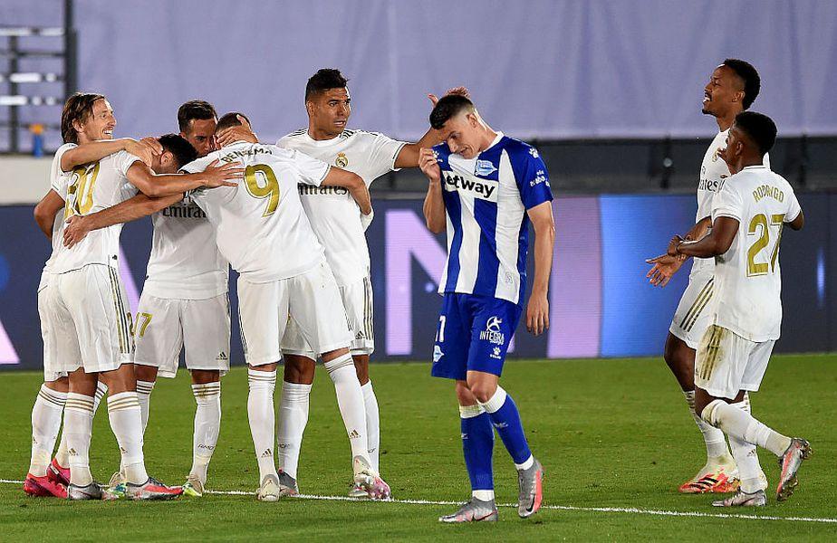 Real Madrid e lider în La Liga // FOTO: Guliver/GettyImages