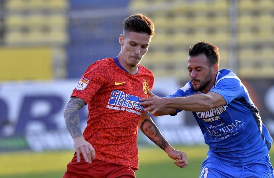 Dennis Man (roșu) ar putea ajunge în Serie A
