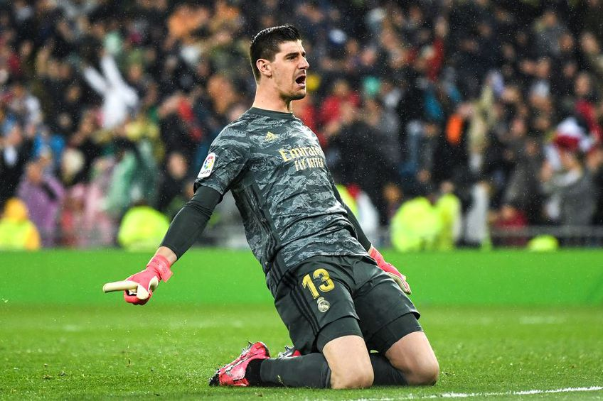 Thibaut Courtois, Real Madrid // foto: Guliver/gettyimages