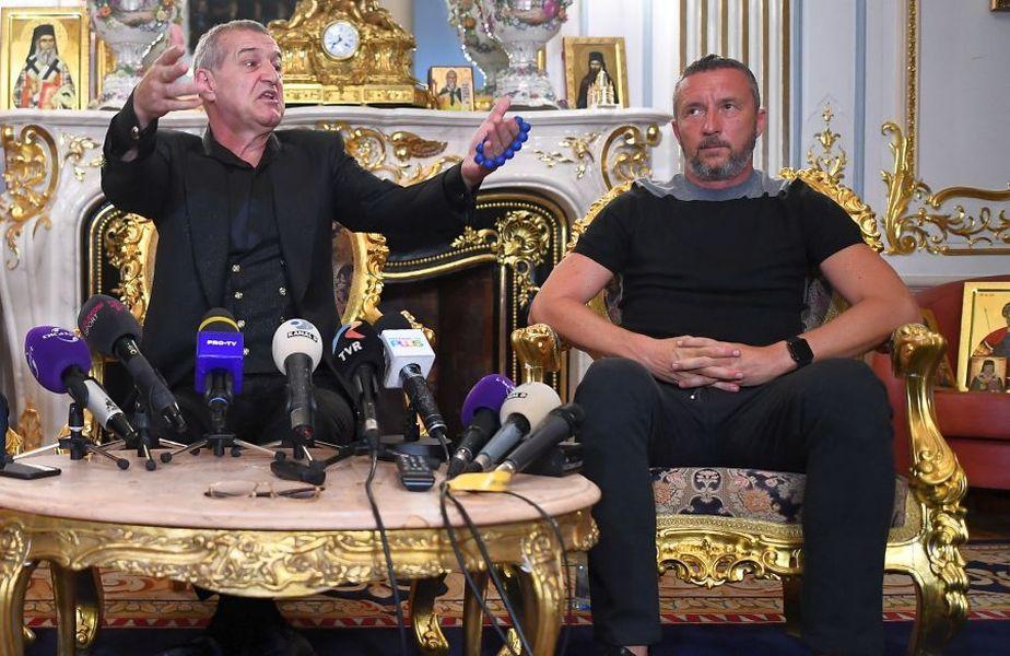 Gigi Becali și Mihai Stoica