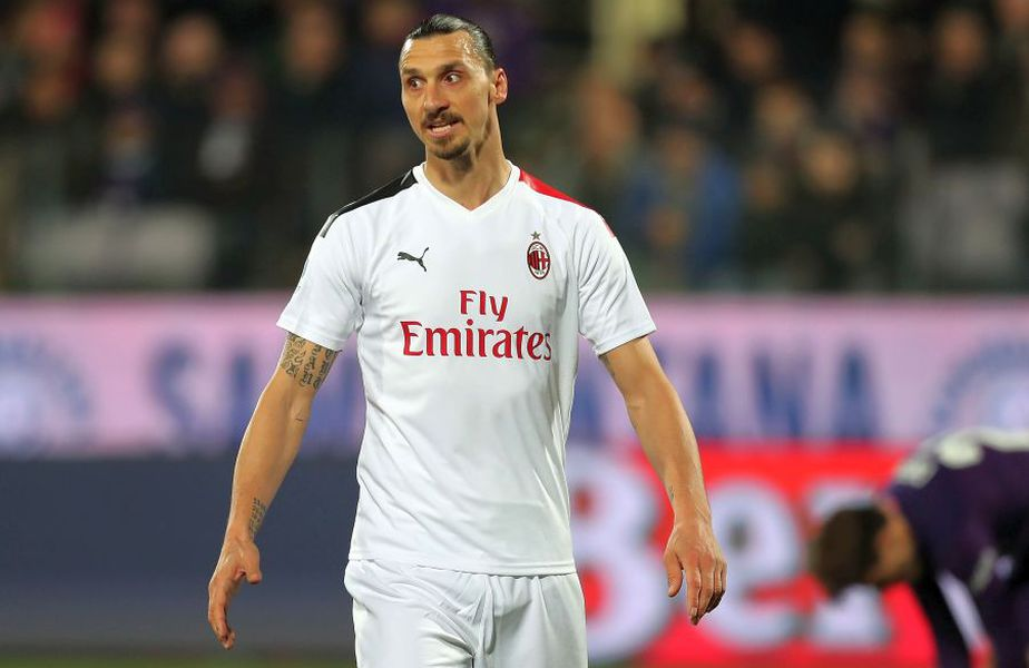 Zlatan Ibrahimovic a marcat 6 goluri pentru AC Milan în acest sezon // foto: Guliver/gettyimages