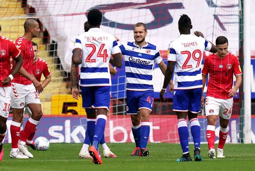 George Pușcaș a marcat în Charlton - Reading 0-1 // foto: readingfc.co.uk