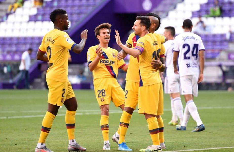 Barcelona a învins-o pe Valladolid, scor 1-0 // Sursă foto: Getty