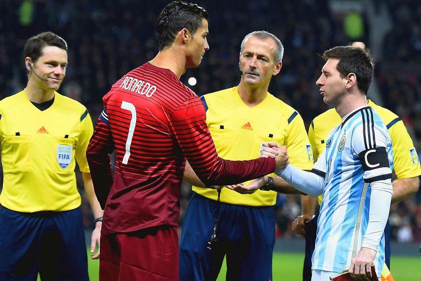 Imagine de arhivă cu Messi și Cristiano Ronaldo / foto: Guliver/Getty Images
