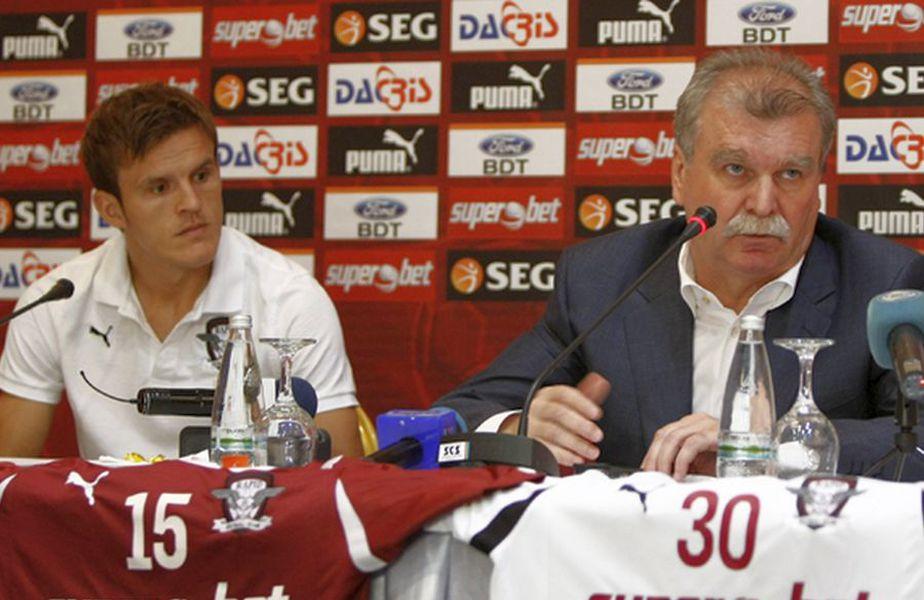 Costin Lazăr, alături de Dinu Gheorghe