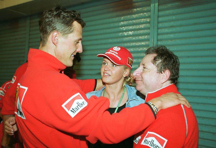 Michael Schumacher, Corinna Schumacher și Jean Todt // FOTO: Guliver/GettyImagesa