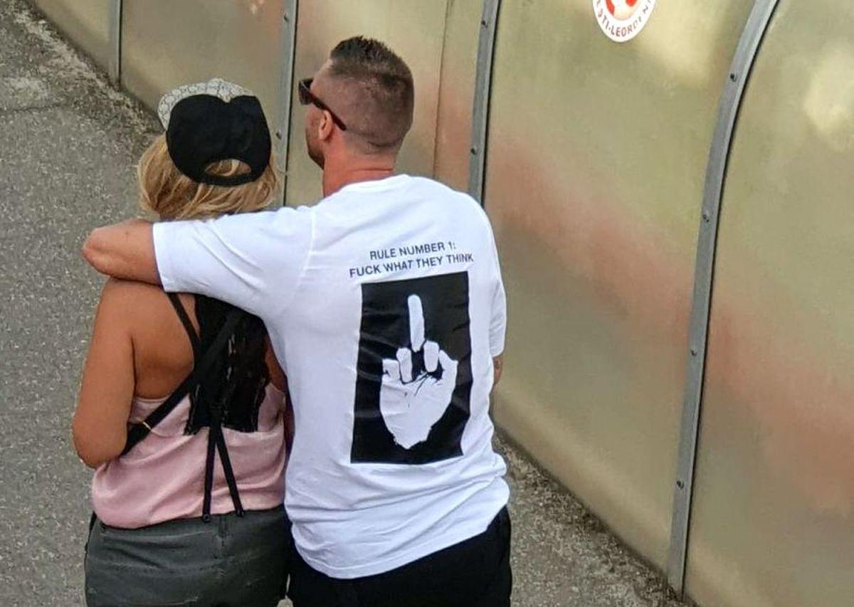 LIGA 2 // VIDEO+FOTO Cristi Bud, dat afară de Erik Lincar de la Turris Turnu Măgurele! Mesaj obscen al fostului atacant al campioanei CFR Cluj
