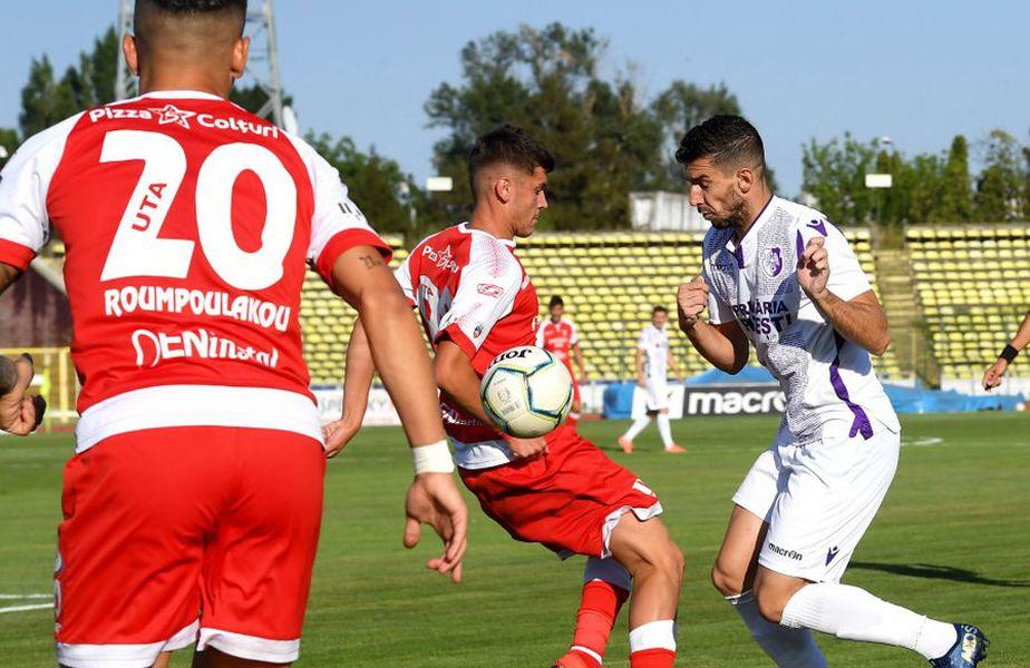 FC ARGEȘ - UTA ARAD, Liga 1, etapa #3, live pe GSP.ro // Sursă foto: www.uta-arad.ro