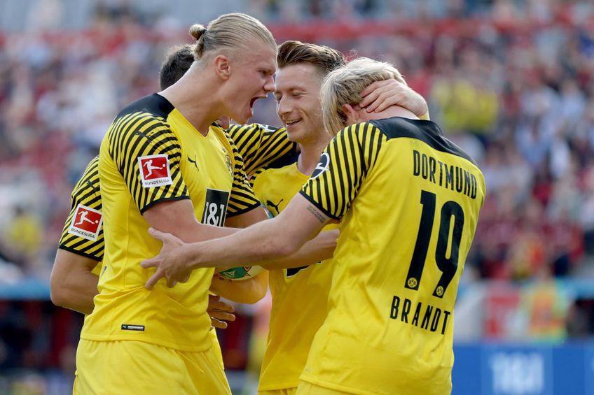 """Borussia Dortmund a câștigat """"thriller-ul"""" cu Bayer Leverkusen // foto: Guliver/gettyimages"""