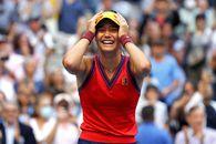 Emma Răducanu - Leylah Fernandez 6-4, 6-3. Britanica scrie istorie: e campioană la US Open 2021