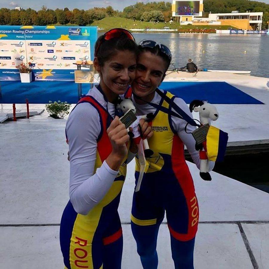 Gianina Beleagă și Ionela Cozmiuc, primele medalii la CE