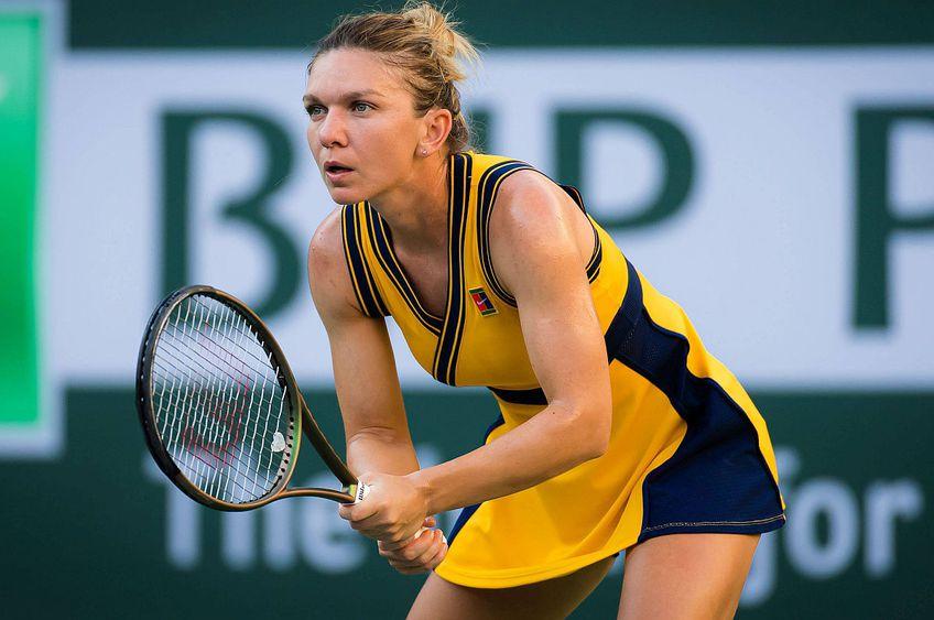 Simona Halep, eliminată de la Indian Wells // FOTO: Imago