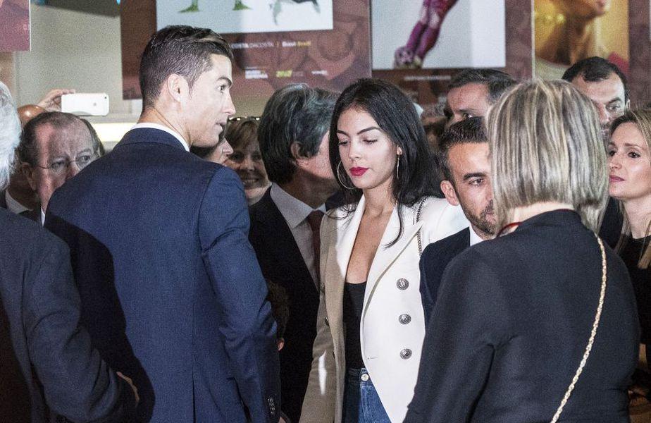Cristiano Ronaldo și Georgina, foto: Guliver/gettyimages