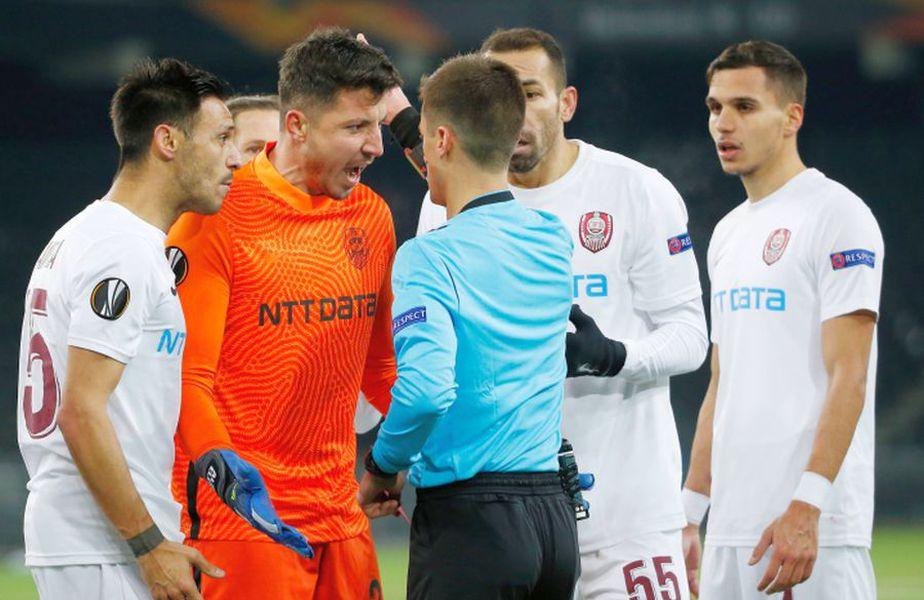 Finalul meciului dintre Young Boys Berna și CFR Cluj a fost tensionat // foto: Imago