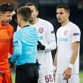 CFR Cluj a fost eliminată de Young Boys, 1-2, după un meci distrus de arbitri în ultimele 10 minute. Foto: Imago
