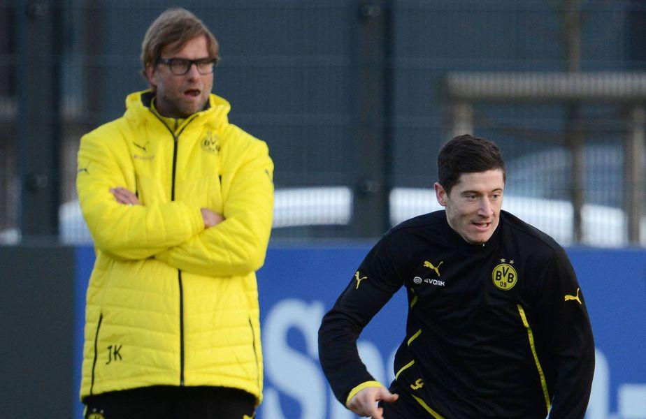 Klopp și Lewandowski la Borussia Dortmund FOTO IMAGO