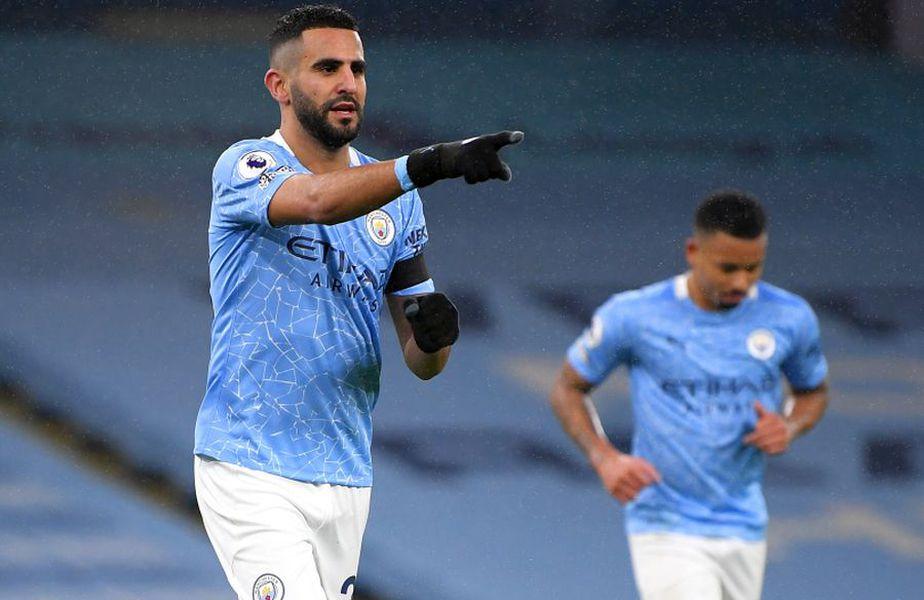 Riyad Mahrez (stânga), Manchester City // foto: Guliver/gettyimages